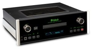 McIntosh MCD600 SACD/CD player and MS500 Music Streamer
