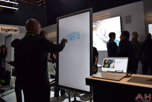 Hands-On With The Samsung Flip Digital Flip Chart - CES 2018