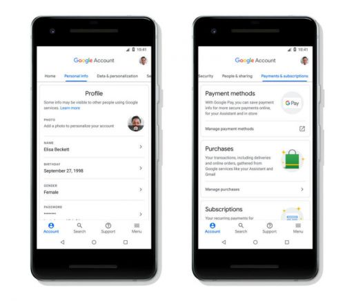 Google Account Settings Remade For Transparency, Ease Of Use