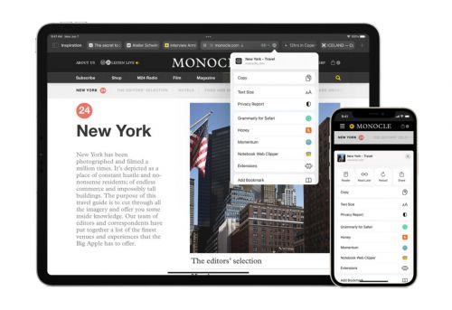 Apple Is Bring Extensions To Safari On iPhone And iPad
