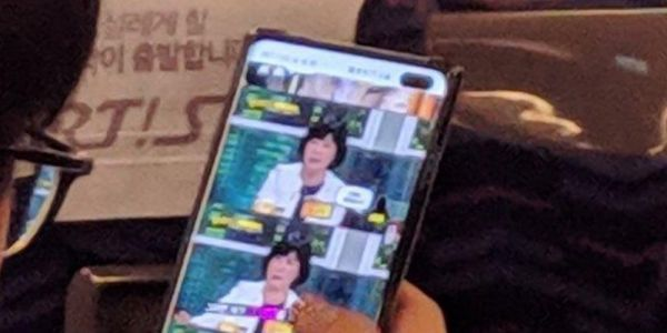 Samsung Galaxy S10+ seemingly appears in grainy images showcasing dual punch hole notch