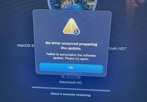 Apple Provides Instructions to Fix macOS Reinstallation Errors on M1 Macs