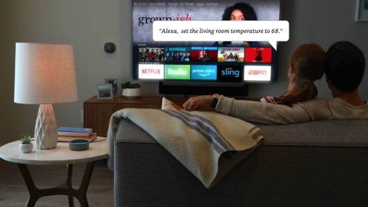 Get the Insignia 55-inch 4K TV on sale for $299.99 and receive a free Echo Dot