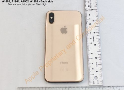 FCC Filing Confirms Apple Planned on Launching Gold iPhone X