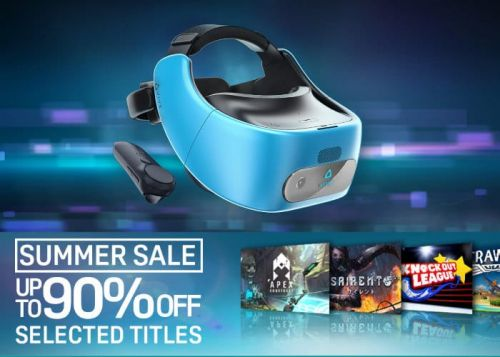 VR Summer Sales For Rift & Vive Offering Up To 90% Off