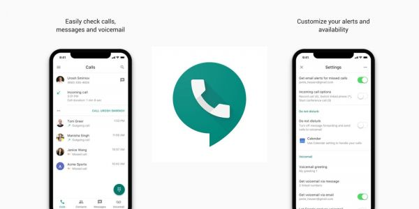 Google Voice redesigned w/ new icon, Contacts tab, & Calendar-set DND, rolling out now to iOS