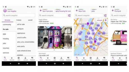 There's now an app for Craigslist