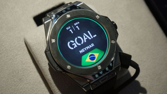 We've had extra time with the Wear OS watch World Cup referees will be using