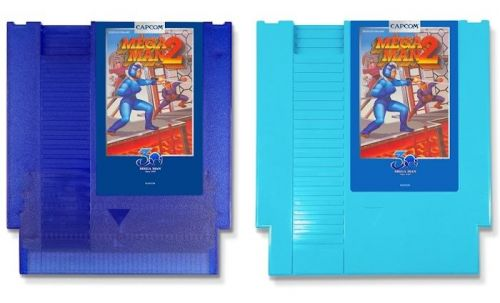 Capcom releases Mega Man classics cartridges