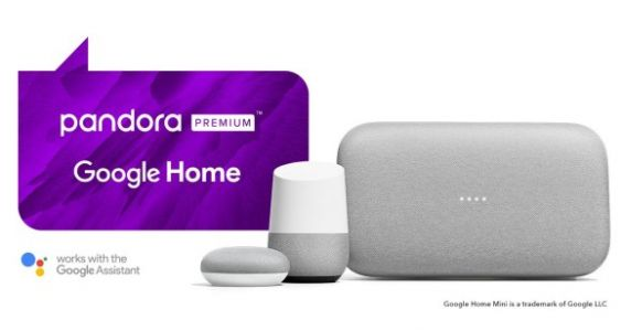 Pandora Premium now plays ball with Google Assistant smart speakers