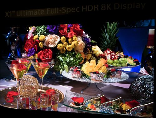 Sony Demos Prototype of 'Full Spec HDR 8K Display' with 10,000 Nits Luminance