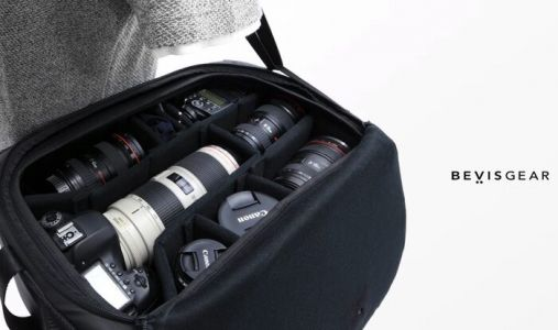Top Shelf fast access camera bag offers near instant access to your gear
