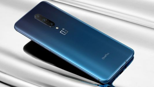 Here's another look at the OnePlus 7T or OnePlus 8 with a circular camera array