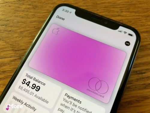Apple Card may be practically blank, but it does have a card number