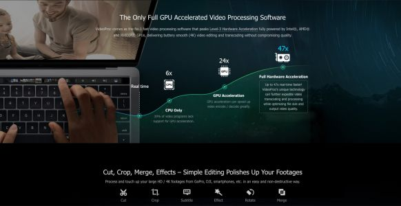 Get VideoProc, a new Mac app for GPU accelerated video processing, editing and more