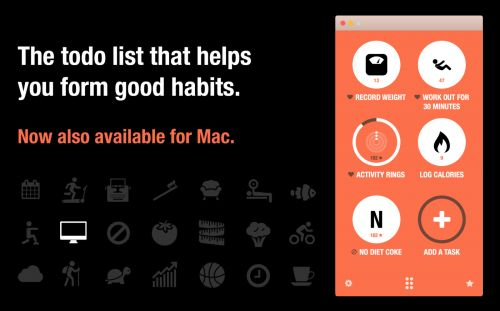 Popular habit tracking app Streaks now available on the Mac