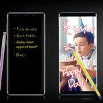 Pretty boy Note 9: all the official colors, images and promo videos