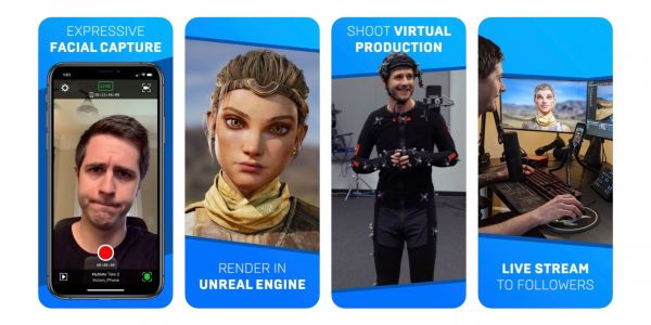 Epic Games' Live Link Face app for iPhone makes facial animation capture accessible to all developers