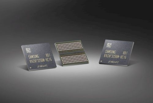 Samsung Now Producing GDDR6 RAM For Next-Gen Graphics Cards