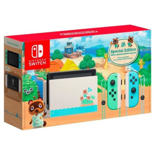 Animal Crossing Edition Nintendo Switch is back in stock on Amazon