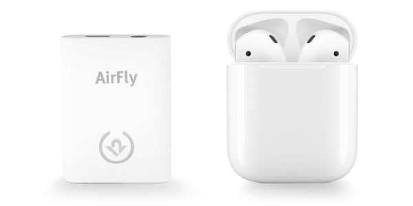TwelveSouth launches AirFly adapter to connect AirPods to in-flight entertainment systems