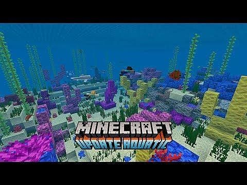 Minecraft's Update Aquatic Phase 2 Surges Onto Servers