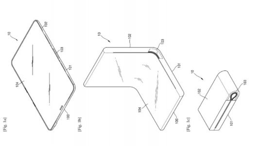 Samsung Patent Details Method Of Controlling A Foldable Display's Shape