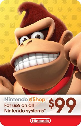 Switch it up with $99 of Nintendo eShop credit for just $89