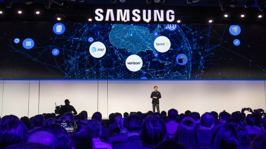 Samsung Galaxy S10 isn't at CES 2019, but its 5G plans for phones are here