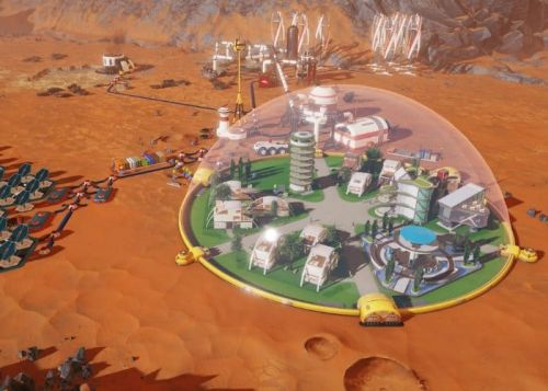 Surviving Mars Strategy Game Now Available