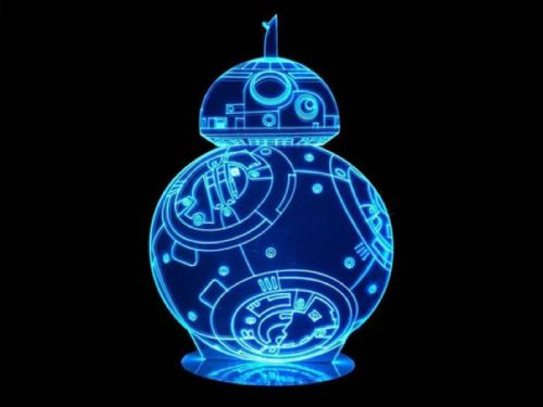 Star Wars 3D Mega Lamps, Save 50%
