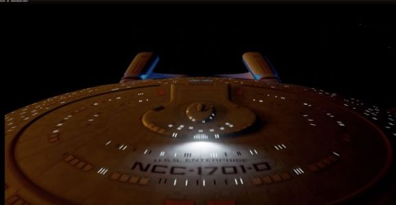 """Amazing NCC-1701-D simulator issues final command: """"all stop"""""""