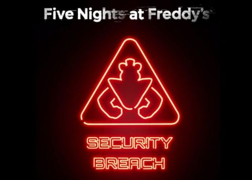 PlayStation 5 Five Nights at Freddy's Security Breach