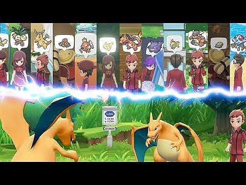 Defeat Pokemon Master Trainers And Take Their Titles In Pokemon: Let's Go, Pikachu! And Pokemon: Let's Go, Eevee!