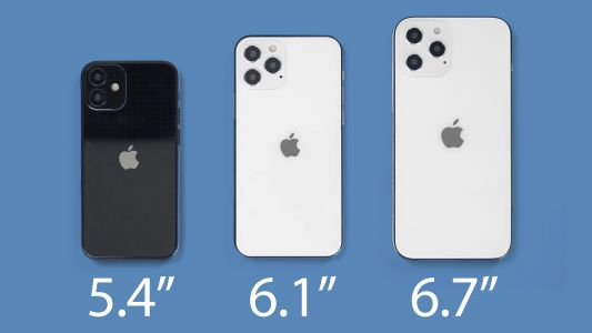 DigiTimes: 6.1-inch iPhone 12 and iPhone 12 Pro to Launch First