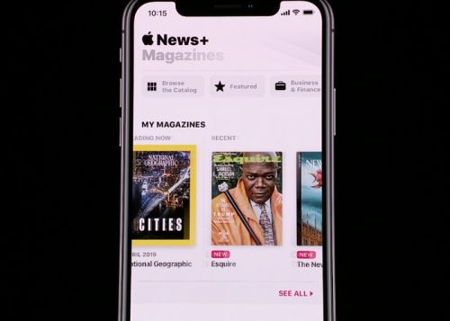 Apple News+ is Apple's new magazine subscription service