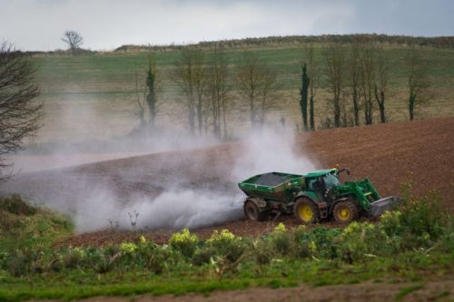 Crush the right rock and spread it on farms to help soil and the climate