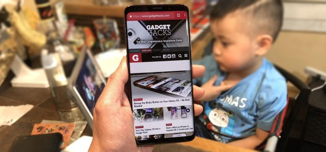 Hide the Navigation & Status Bars on Your Galaxy S9 - No Root Needed