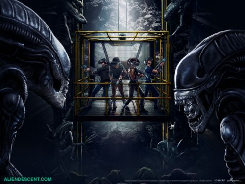 Alien: Descent puts the Xenomorphs into a wireless VR arcade experience