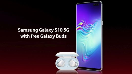 Get a free pair of Galaxy Buds with Samsung Galaxy S10 Plus deals from Vodafone