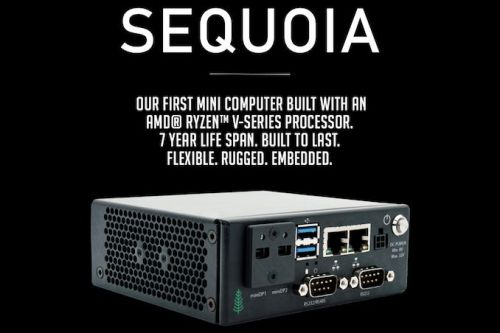 SimplyNUC Unveils Sequoia: AMD Ryzen V-Series-Based UCFF PC