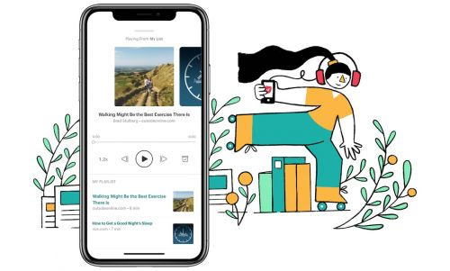 Pocket Updated With Text-to-Speech 'Listen' Feature, Turning Articles Into Podcasts