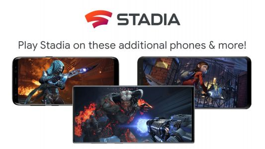 Stadia adds support for latest Samsung, Asus, and Razer phones