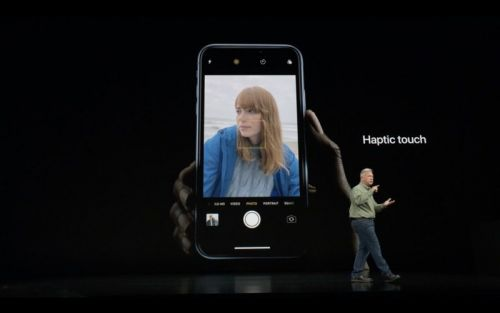 Apple Plans to Expand Uses of Haptic Touch on iPhone XR Over Time
