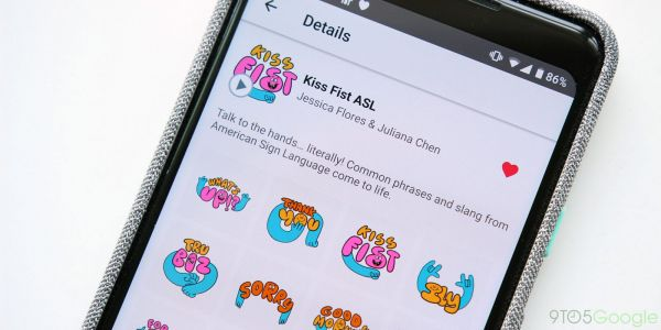 Gboard's latest animated sticker pack celebrates American Sign Language