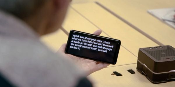 Android Live Transcribe can save transcripts, recognize sounds