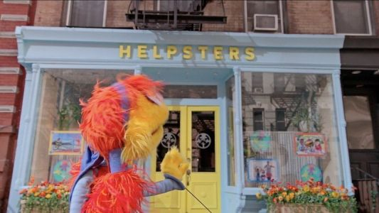 Christina Perri sings about tiny things in a new 'Helpsters' video
