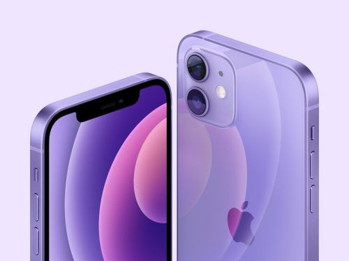The iPhone 12 and iPhone 12 mini in Purple are now available