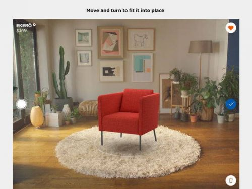 IKEA's AR 'Place' App Is Now Available On Android