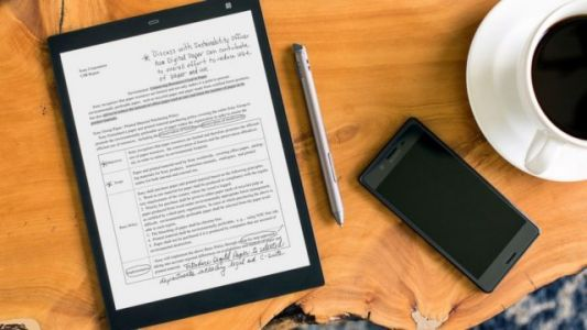Sony Launches Smaller Version Of Its Digital Paper Tablet